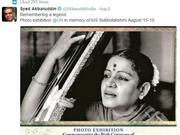 m s subbulakshmi to be honoured by a r rahman at un on independence day