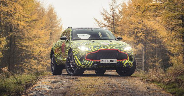 first ever aston martin suv to be called the dbx