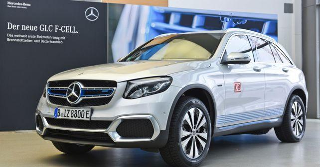 mercedes benz combines hydrogen fuel cell and electric tech with the glc f cell