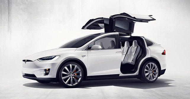 tesla launches world s first luxury electric suv model x
