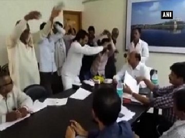 watch to protest against officials apathy buldhana locals perform nagin dance firstpost