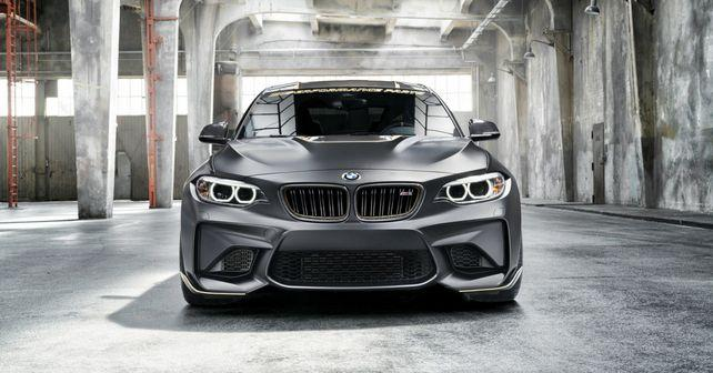 bmw m2 based m performance parts concept revealed