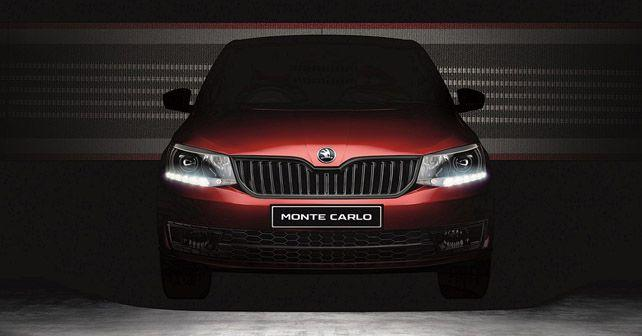 skoda rapid monte carlo launched