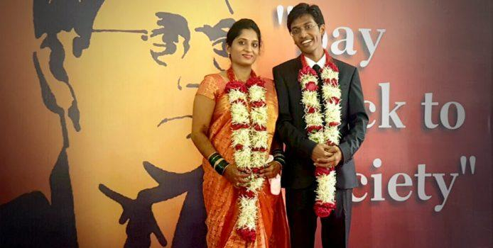 this young couple decided to change the way marriages are done in india