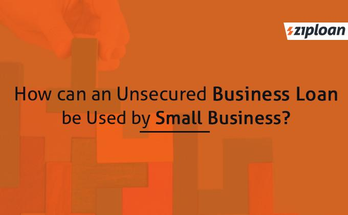 how can an unsecured loan be used by small business