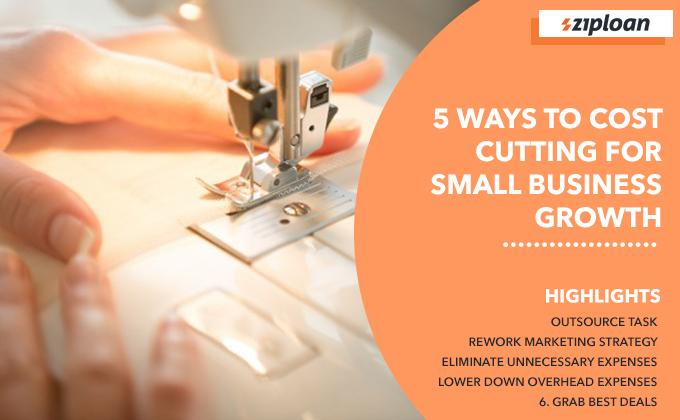 5 ways to cost cutting without affecting small business growth