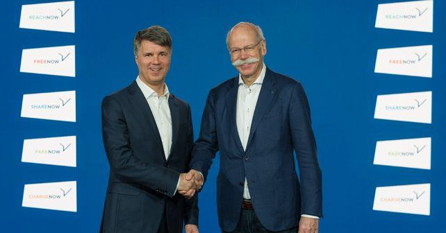 bmw group and daimler ag to jointly invest 1 billion to combine their mobility services