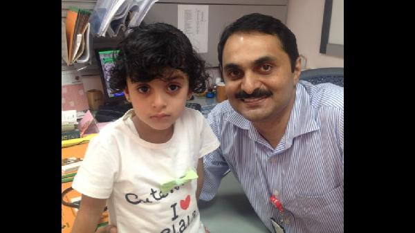how indian doctors helped an omani child survive rarest of the rare cancer