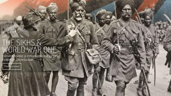 mapping sikh heroes a website to remember world war i soldiers