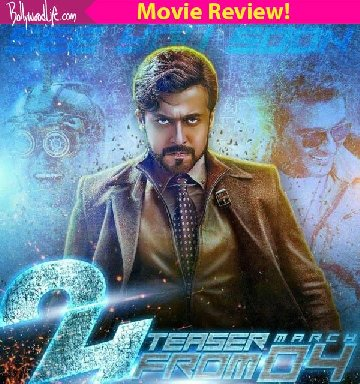 24 movie review suriya is top notch in the best time travel flick india has ever made
