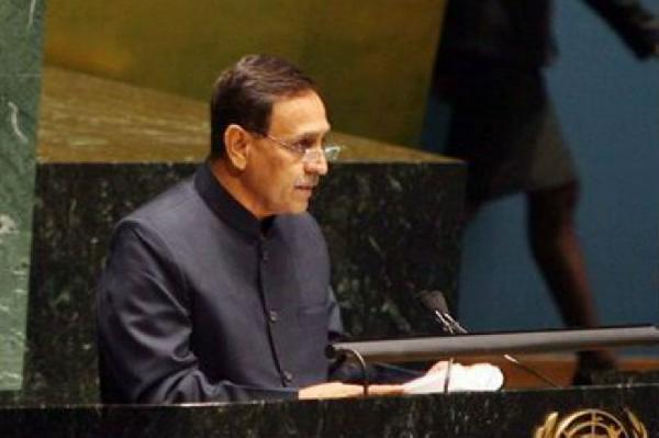 vijay rupani is the next chief minister of gujarat nitin patel is deputy cm