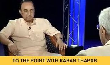 sonia gandhi is guilty as hell says subramanian swamy to the point india today
