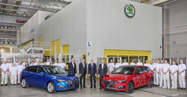 skoda scala goes into series production in europe