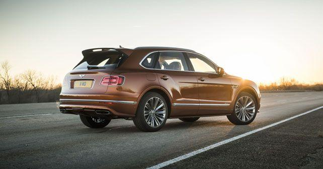 faster more powerful bentley bentayga speed unveiled