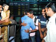 156 indians evacuated from s sudan return home