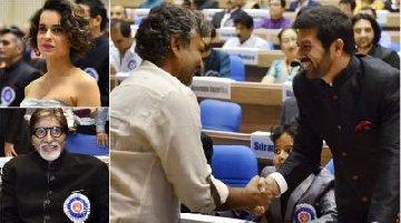 kangana amitabh ss rajamouli and others receive national awards