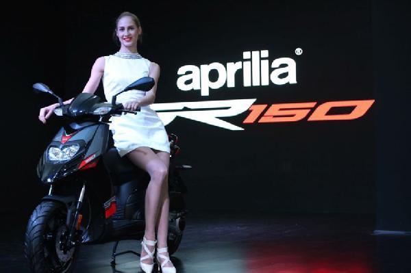 piaggio to launch aprilia sr 150 scooter at rs 65 000