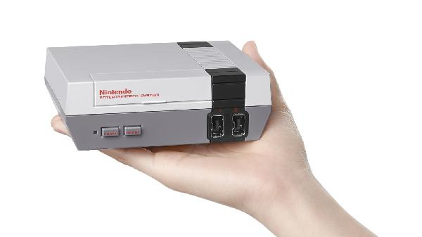 nintendo is releasing a miniature nes with 30 built in games