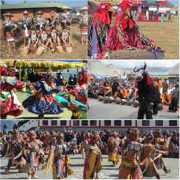 mask dance of arunachal pradesh