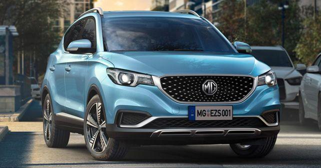 india bound mg ezs all electric suv revealed
