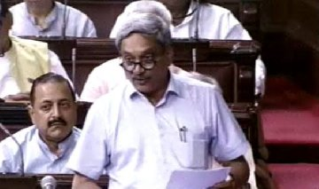 agustawestland scam invisible hand was guiding action of cbi says defence minister in rajya sabha times of india