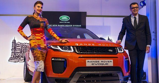 land rover launches the new evoque at rs 47 1 lakhs