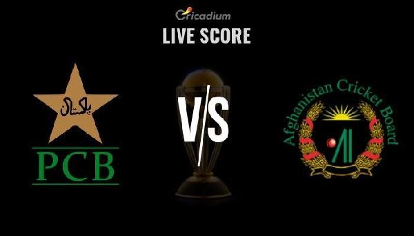 pak vs afg 1st warm up match live score pakistan vs afghanistan live cricket score